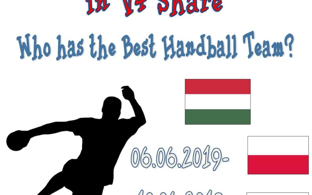 Kié a legjobb kézilabda csapat? V4 rendezvény