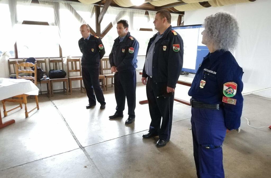 Nemzeti minősítő gyakorlat – járási önkéntes mentőcsoportok részére