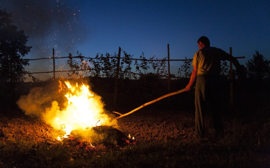Szabadtéri tűzgyújtás szabályainak változásával kapcsolatos tájékoztató